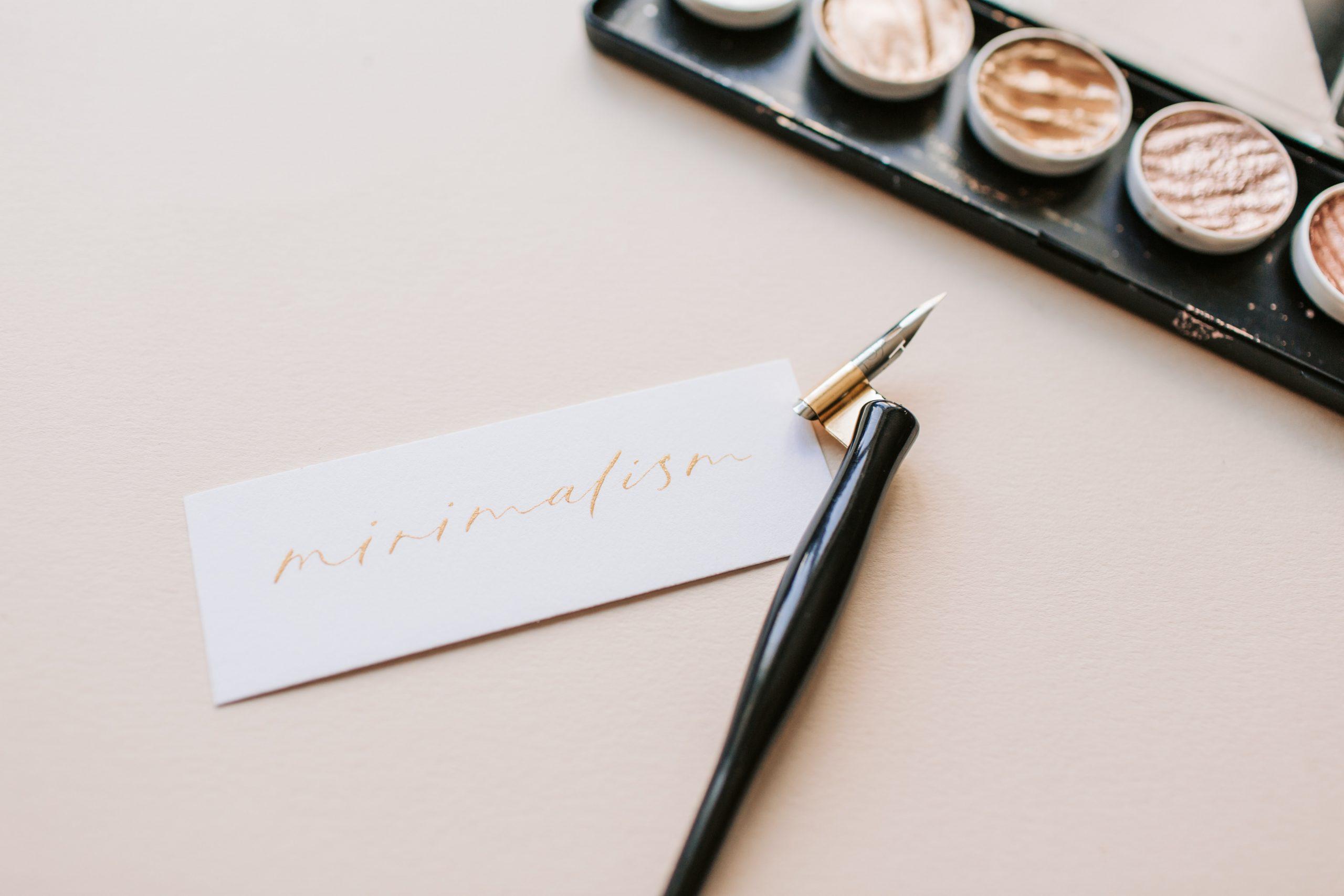 blog minimalismo